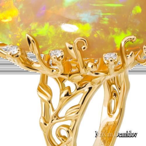 """Гарнитур """"Восток-Запад"""" Золото 750 желтое"""